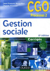 Gestion sociale ; corriges (6e edition)