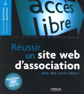 Anne-Laure Quatravaux, Dominique Quatravaux- Reussir un site web d'association avec des outils libres