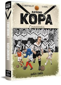 Raymond kopa en bd version angers sporting club de l'ouest
