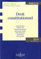Droit constitutionnel - 2014