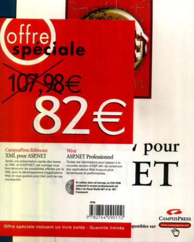 Pack Asp Net Professionnel Xml Pour Asp Net Collectif Campus Librairie Eyrolles
