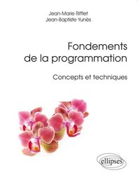 Fondements de la programmation