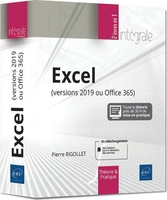 Excel (versions 2019 ou office 365)