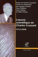 L'oeuvre scientifique de Charles Crussard