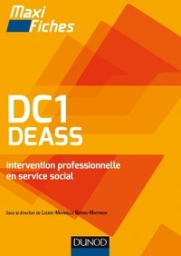 DC1 DEASS - Intervention professionnelle en service social