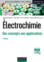Électrochimie, des concepts aux applications