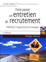 Philippe Villemus - Faire passer un entretien de recrutement