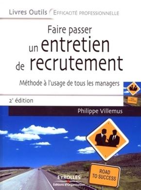 Philippe Villemus- Faire passer un entretien de recrutement