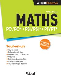Maths PC/PC* PSI/PSI* PT/PT*