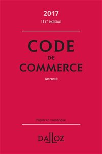 Code de commerce - 2017