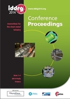 Iddrg 2014, Conference Proceedings Innovations For The Sheet Metal Industry, June 1-4 2014, Paris, F