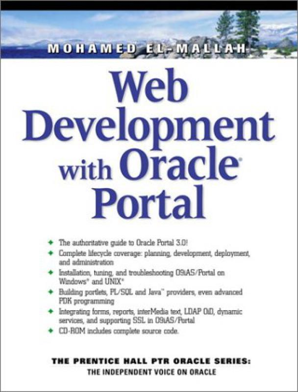 Web development with Oracle Portal - M El-mallah - Librairie Eyrolles