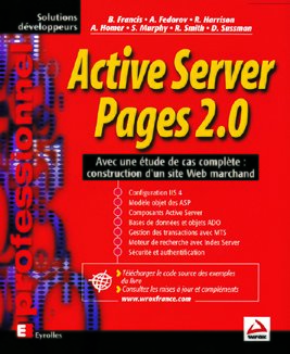 Brian Francis- Active Server Pages 2.0