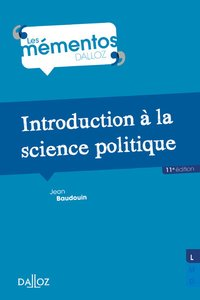 Introduction à la science politique (11e édition)