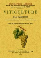 Viticulture, Encyclopedie Agricole
