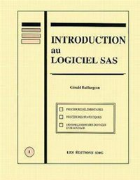 Introduction au langage SAS