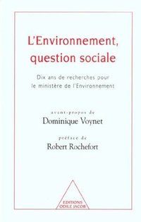 L'environnement, question sociale