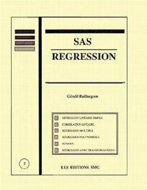 SAS régression