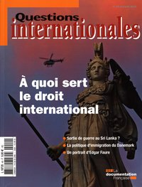 A quoi sert le droit international