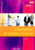 Information et communication - 1re STG gestion