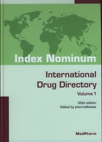 Index nominum international drug directory 20th edition 2 volumes with cdrom