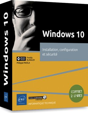 Windows 10 - Coffret de 2 livres