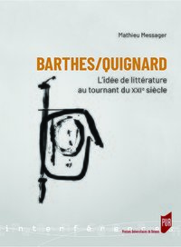 Barthes/Quignard