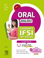Concours IFSI infirmier : oral, 2016-2017