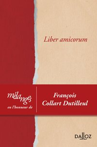 Liber amicorum - 1re ed.