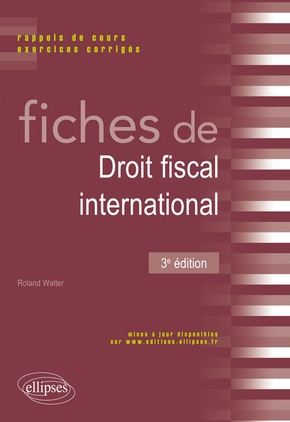 Fiches de droit fiscal international