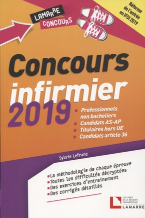 Concours infirmier 2019