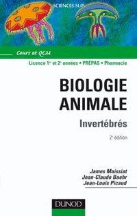 Biologie animale - Invertébrés