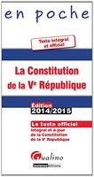 La Constitution de la Ve République - 2014-2015
