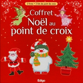 Coffret - Noël au point de croix