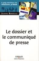 Jeanne Bordeau - Le dossier et le communiqué de presse