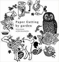 Paper cutting by garden /anglais
