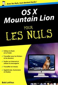 Mac OS X Mountain Lion pour les nuls - Version poche