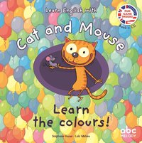 Learn english with cat and mouse - learn the colours