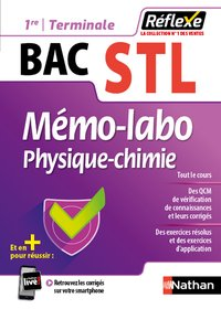 Mémo-labo physique-chimie 1re/term stl (guide réflexe n36) 2020