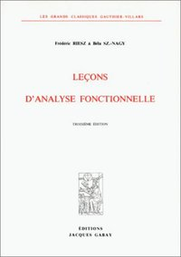 Lecons D'Analyse Fonctionnelle