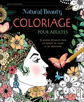 Natural beauty - coloriage pour adultes