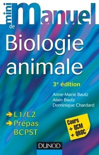 Mini manuel de Biologie animale