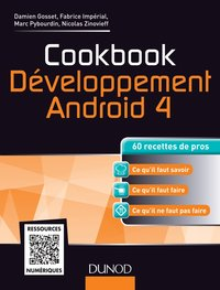 Cookbook - Développement Android 4