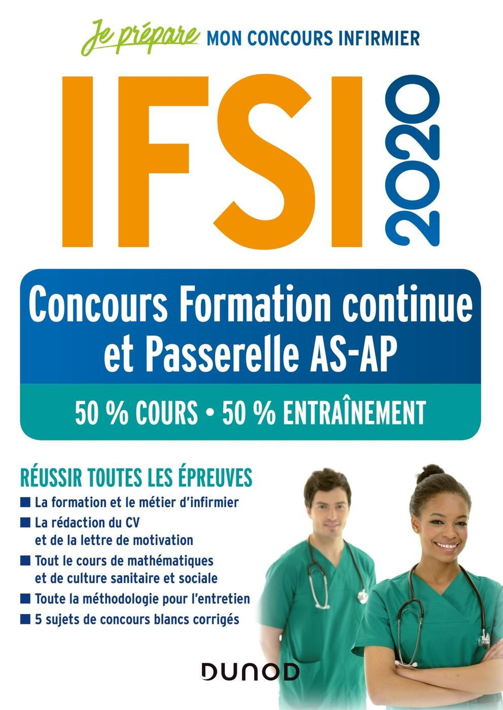 Ifsi 2020 Concours Formation Continue Et Passerelle As Ap 50 Librairie Eyrolles