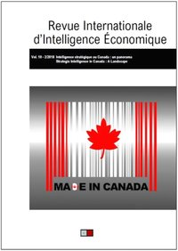 Revue internationale d'intelligence économique 10-2/2018
