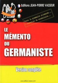 Le mémento du germaniste
