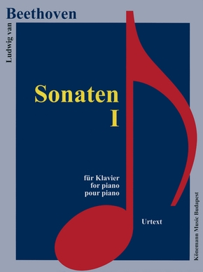 Partition - beethoven - sonates i - pour piano