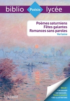 Poèmes saturniens, fêtes galantes, romances sans paroles, paul verlaine