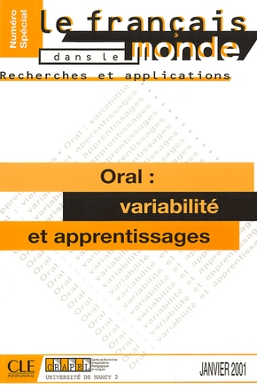 L'oral : variabilite et apprentissage