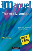 Mini-manuel de thermodynamique